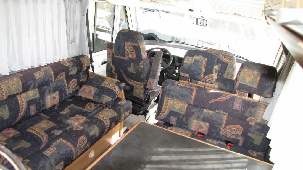Camper motorhome hymer b-klasse 544 usato