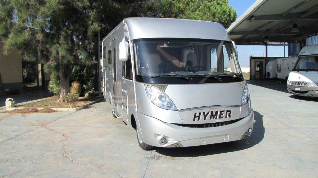 Motorhome Hymer B SL 528