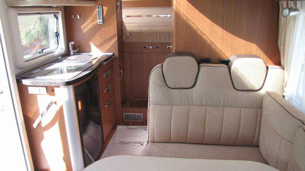 Motorhome HYMER B-Klasse SL 528