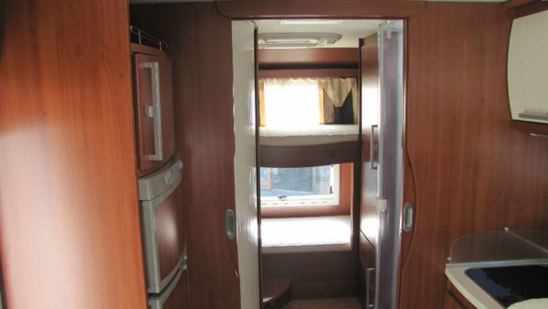 Camper Usato mansardato Mobilvetta Kea M75