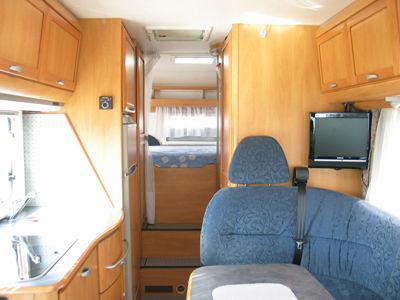 Camper Motorhome Hymer B-Klasse 644 usato