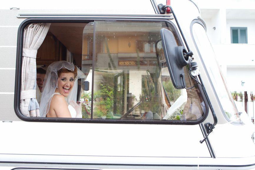 Matrimonio 2011 su Hymermobil S 1990