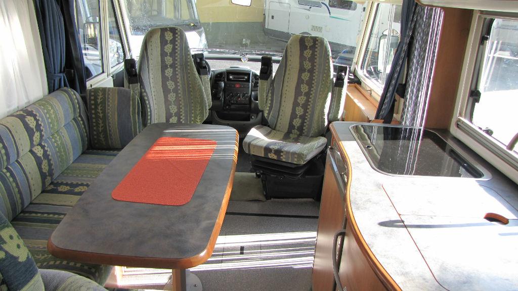 Camper Motorhome Hymer B-Klasse 564 usato